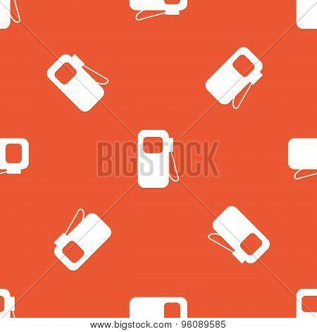 Orange gas station pattern