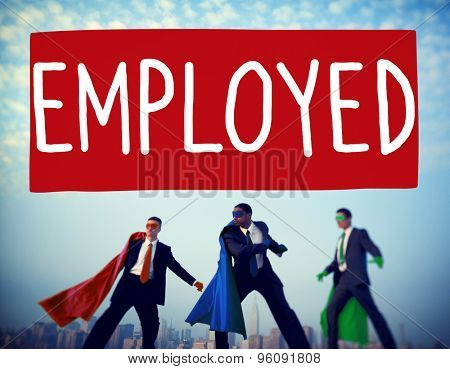 Employment Employed Career Job Hiring Concept