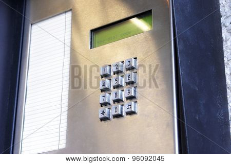 Security Key Pad