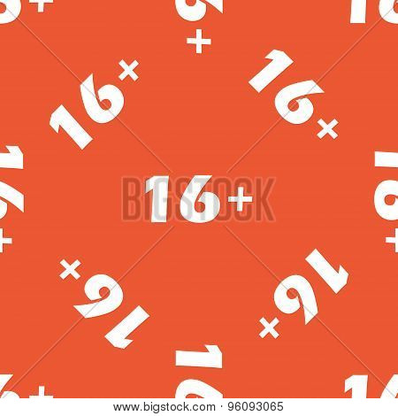 Orange 16 plus pattern