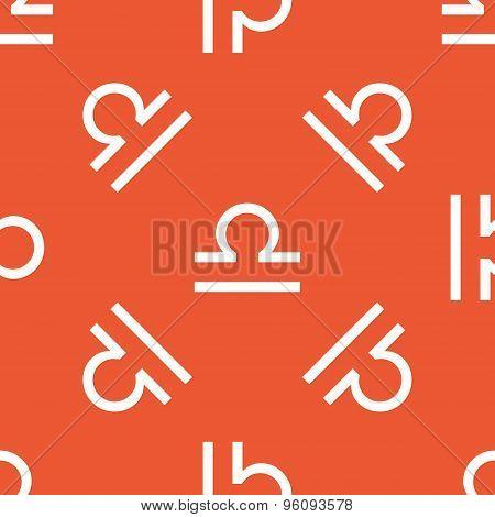 Orange Libra pattern