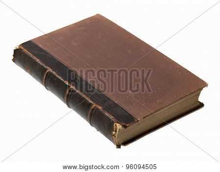 old book on white background, vector