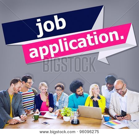 Job Application Applying Recruitment Occupation Career Concept