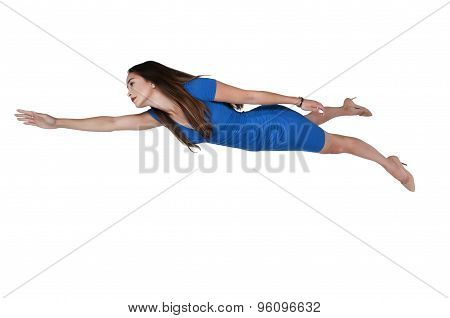 Floating Flying Woman