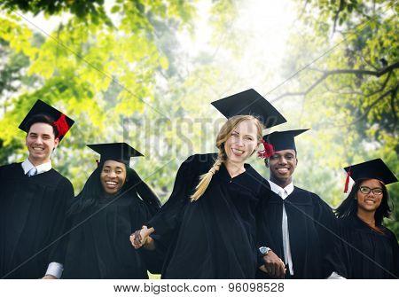 Graduation Students Education Degree Achievement Concept