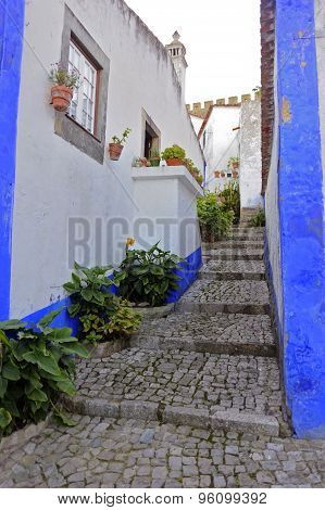 Romantic medieval village of
