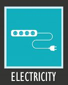 stock photo of electric socket  - Wire - JPG