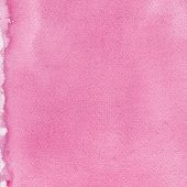 stock photo of taint  - Pink natural handmade aquarelle painting texture pattern - JPG
