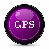 stock photo of gps  - GPS icon - JPG