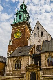picture of stanislaus church  - Royal Archcathedral Basilica of Saints Stanislaus and Wenceslaus on the Wawel Hill - JPG
