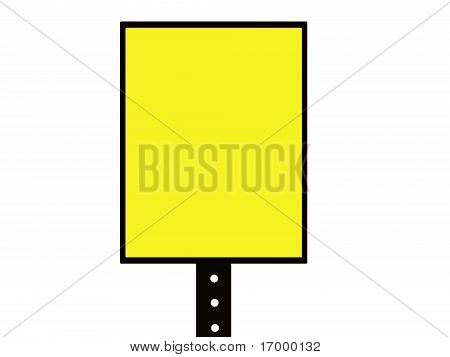 blank square sign