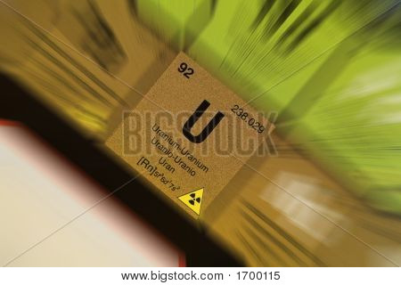 Uranium, From Periodic Table