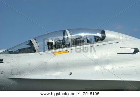war-plane SU 30 Russia