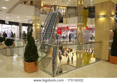 The big shopping center for family purchases and gifts.