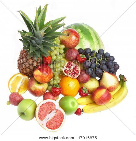 Ripe fresh fruit. Wholesome food.