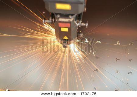 Laser-close up