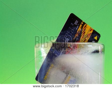 Credit Card Locked In Ice #4