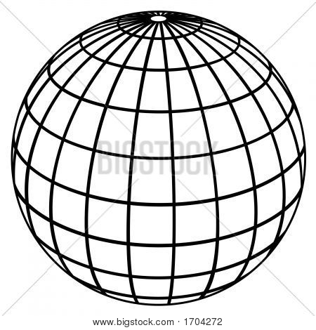 Globe Meridians
