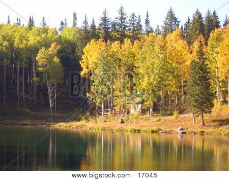 Early Autumn At Glacier Lake