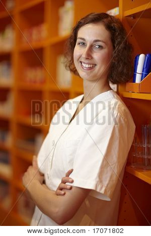Relaxed Pharmacist