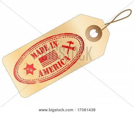 Made In America Tag