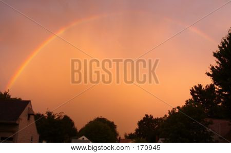 Natureorangeskyrainbow