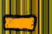 picture of tawdry  - abstract vector illustration yellow green orange toned image - JPG