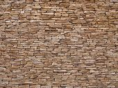picture of brownstone  - Stone wall - JPG