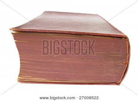 Old brown book