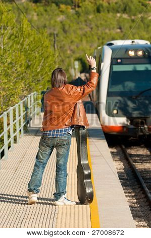 Stopping The Train
