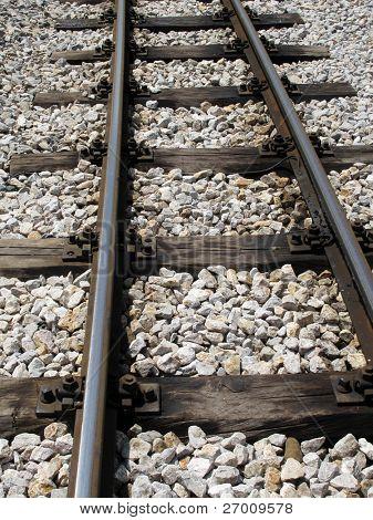 Narrow gauge railroad railway