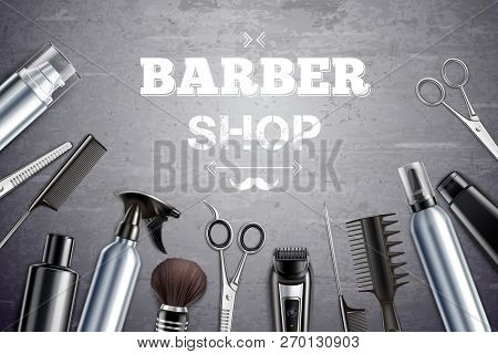 Barber Shop Hair Styling Tools