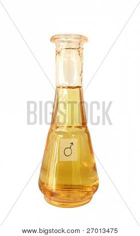 Magical potion magic potent remedy aphrodisiac in vial