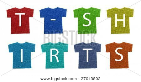 T-shirts samples