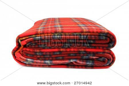 Blanket red