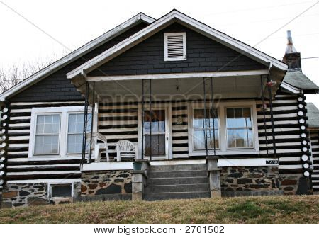 Older Log Home