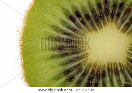 Kiwifruit kiwi fruit macro