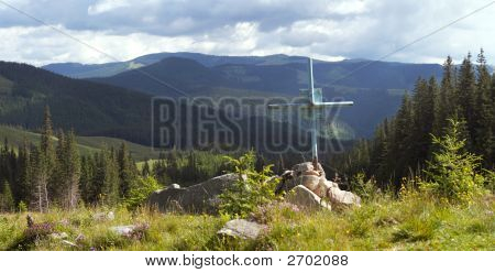 Grave In Mountains