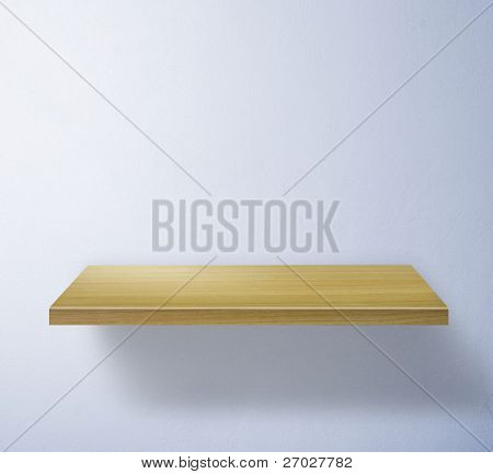 shelf for exhibit