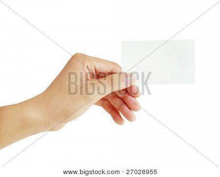 Hand van kaarten