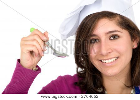 Chef With A Spoon