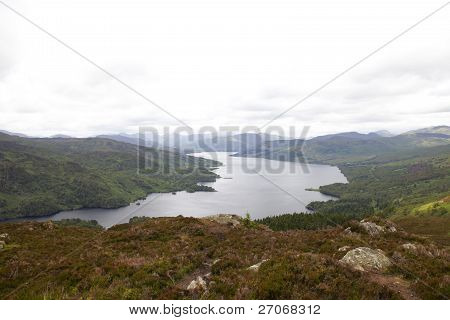 View On Loch Katrine
