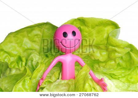 Smiley And Lettuce