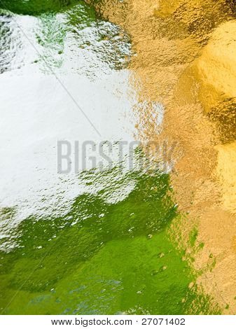 Glass abstract background