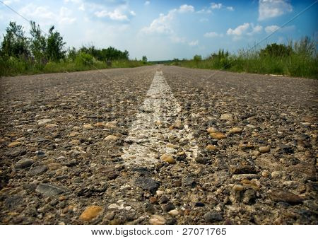 shaggy asphalt