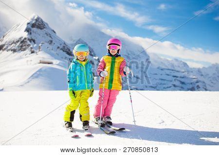 Ski And Snow Winter Fun