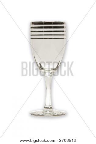 Vintage Wineglass