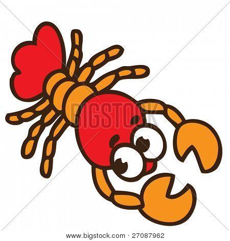 cartoon craw-fish