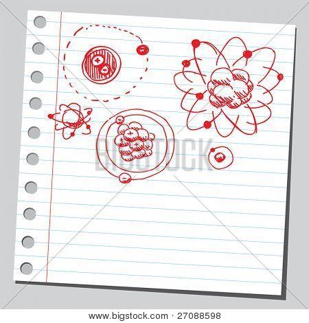 Scribble atoms