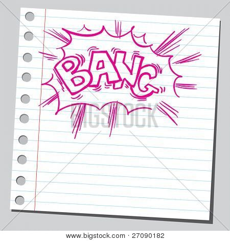Scribble bang